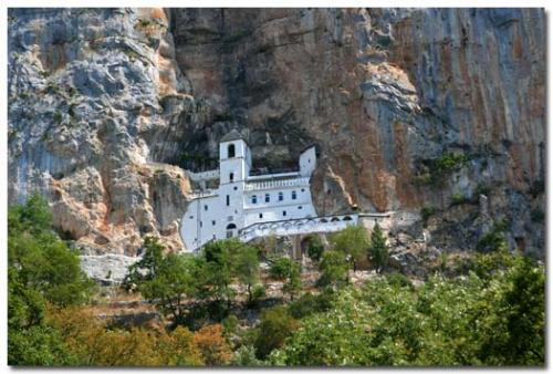 2 монастыря. Острог – Цетинье