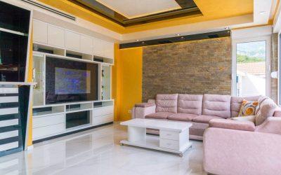 7197 Apartment 3 bedrooms,  Maslinjak, Budva