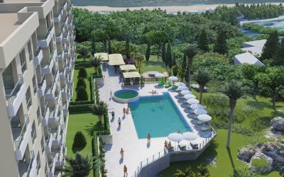 10000 New Housing Complex with pool – Becici