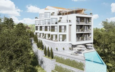 10020 New housing complex with pool – Tivat
