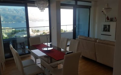 7301 Apartment 3 bedrooms, with sea view, Becici