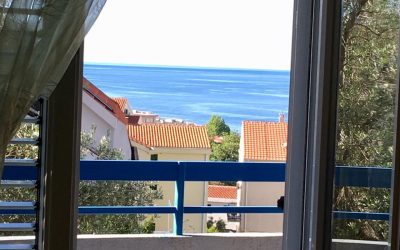 7393 Two-bedrooms apartment with sea view, Petrovac
