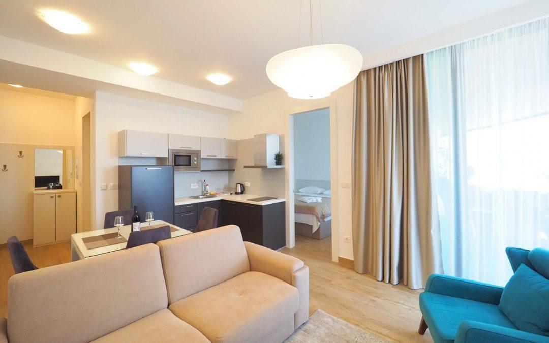 34 One-bedroom aparment with sea view, Royal Gardens, Budva
