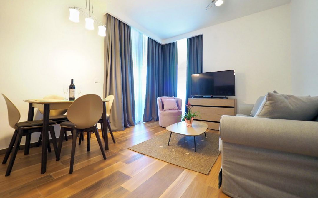 17 One-bedroom aparment with sea view, Royal Gardens, Budva