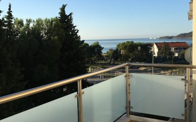7432 Apartment with two bedrooms – with sea view, Bečići dup