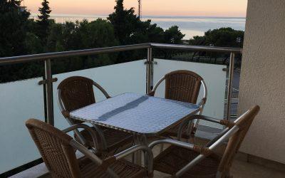 7442- Dvosoban stan sa pogledom na more, Becici