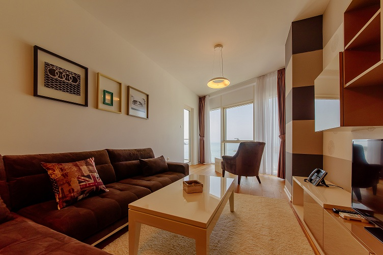 7441- One-bedroom apartment for sale in center of Budva