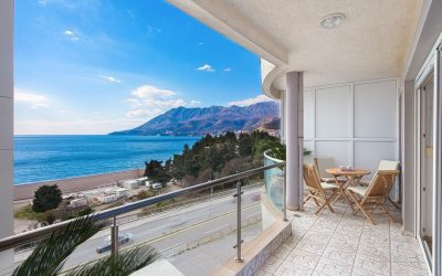7449 Apartments with 3 bedrooms with sea view, Becici