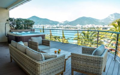 7451 Luxury apartment on first line to the sea, Budva