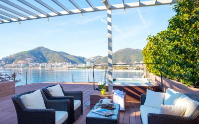7450 Luxury apartment on first line to the sea, Budva